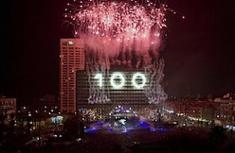 tel aviv 100 fireworks 248.88 ap (photo credit: AP [file])