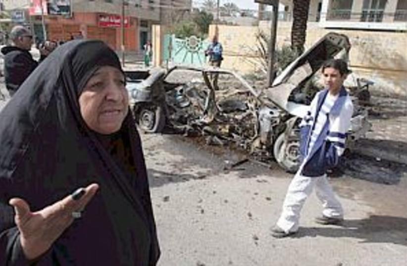 baghdad car bomb 88.298 (photo credit: )