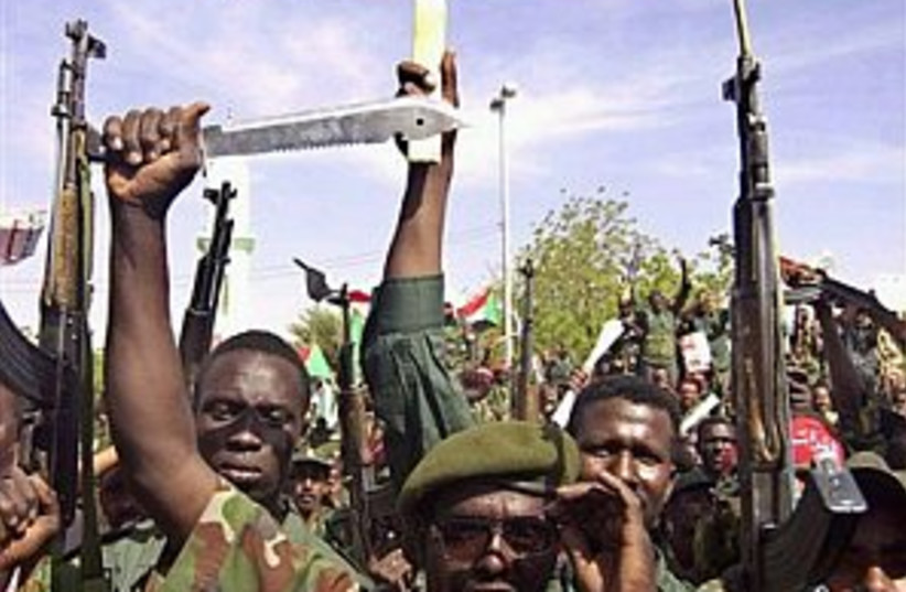 darfur anti-america298.8 (photo credit: Associated Press)