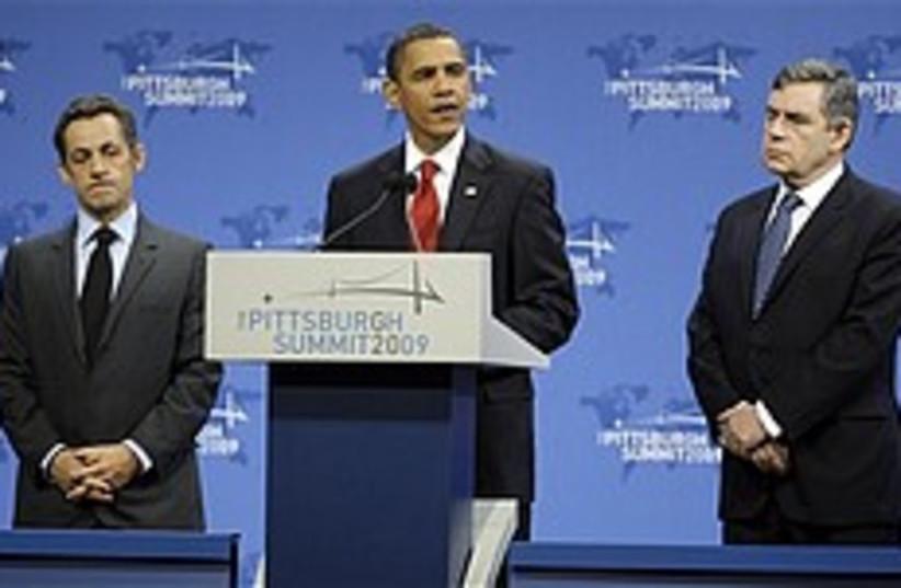obama sarkozy brown g20 248 88 ap (photo credit: AP [file])