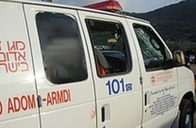 ambulance (photo credit: MDA)