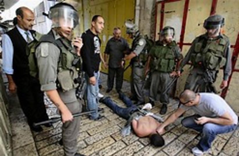 old city arrest arab 248 88 (photo credit: )