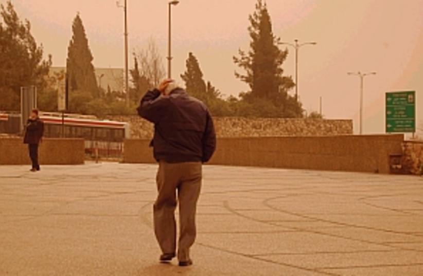 dust in jerusalem 298 88 (photo credit: Blake-Ezra Cole)