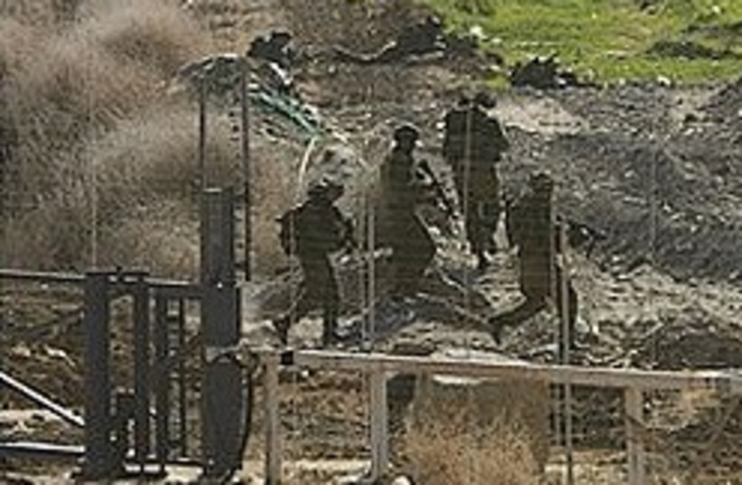 IDF gaza border 248 88 ap (photo credit: AP)