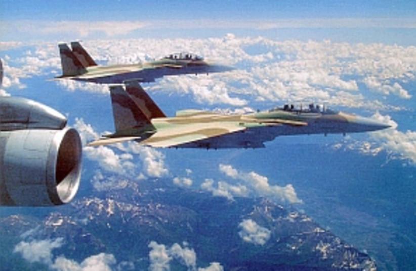 iaf plane f-15i 29888idf (photo credit: IDF)