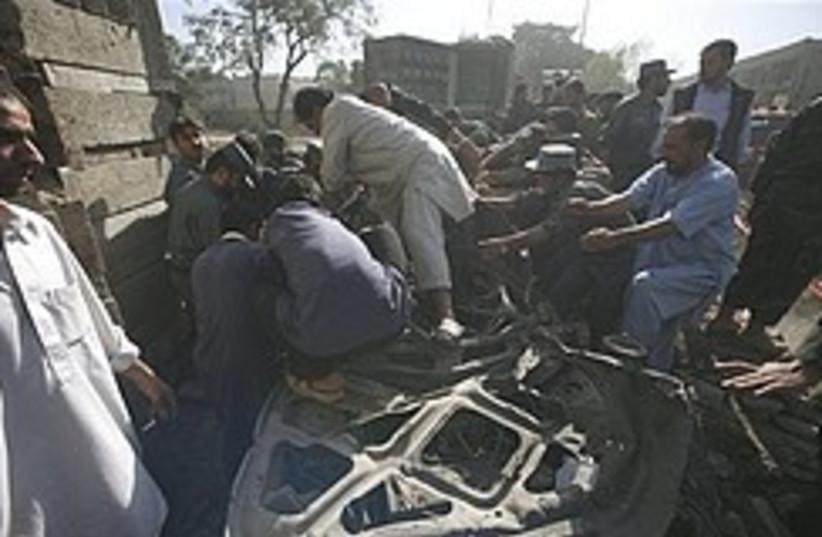 Afghan suicide blast 248.88 (photo credit: )