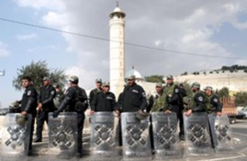 border police east jerusalem 248 88 aj (photo credit: Ariel Jerozolimski [file])