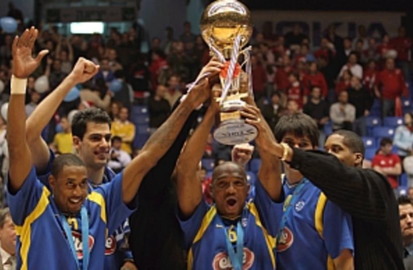 maccabi win trophy298 88 (photo credit: Courtesy)