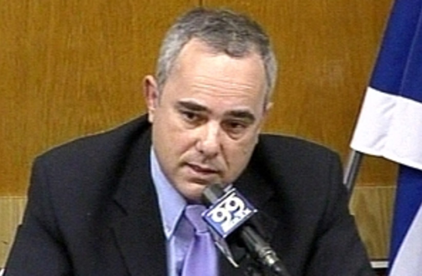 yuval steinitz 298 88 (photo credit: Knesset Channel [file])