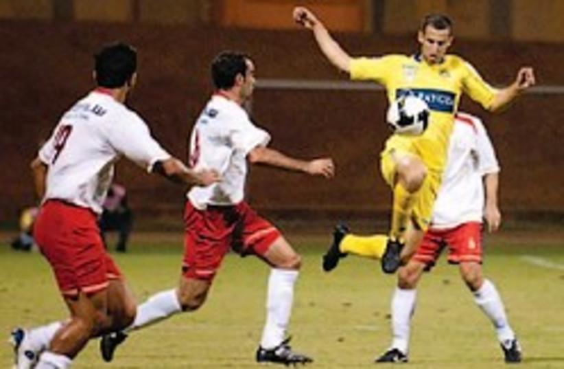 maccabi tel aviv soccer spungin 248.88 (photo credit: Asaf Kliger)