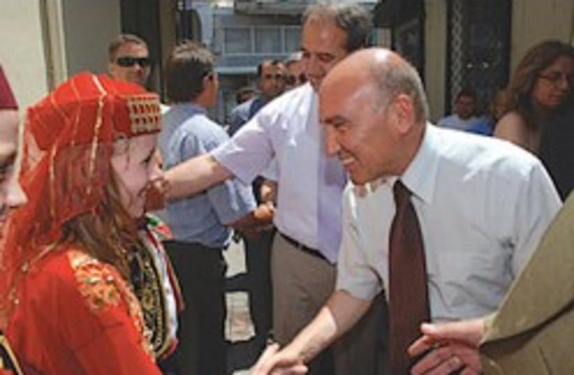 ahmet oguz celikkol turkey ambassador (photo credit: )