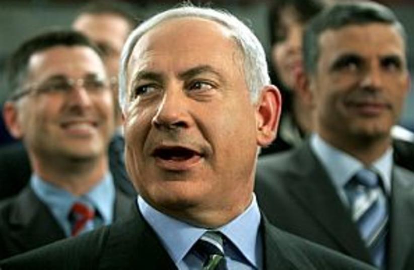 netanyahu good pic 298.8 (photo credit: AP [file])