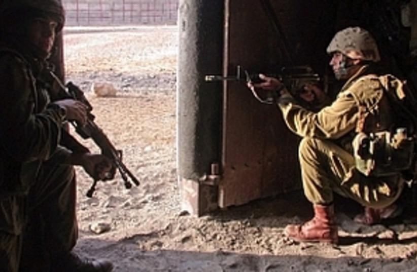 urban warfare training 2 (photo credit: IDF [file])