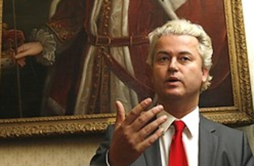 Geert Wilders 248 88 ap (photo credit: )