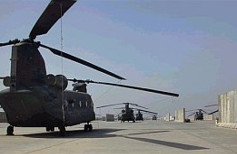 iraq chopper 298.88 (photo credit: Associated Press)