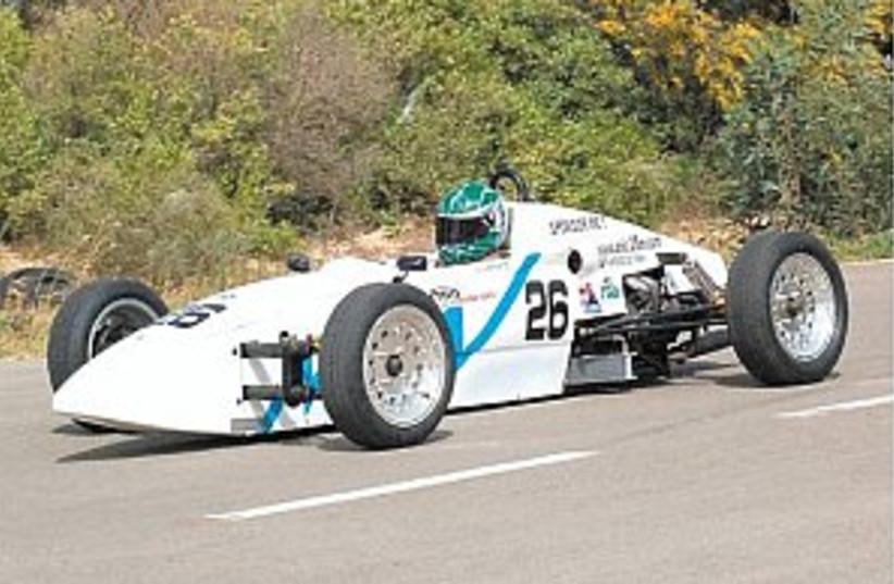 israeli race car  (photo credit: Blake-Ezra Cole)