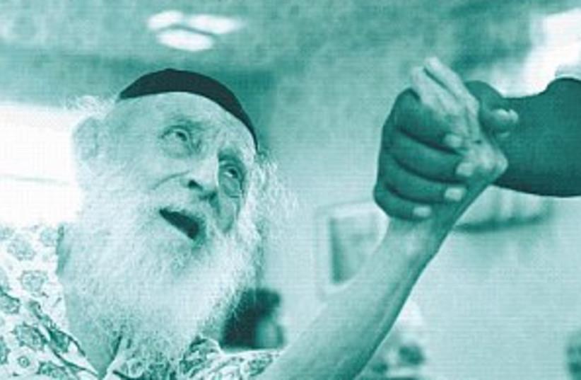 elderly senior 88.298 (photo credit: Ariel Jerozolimski)