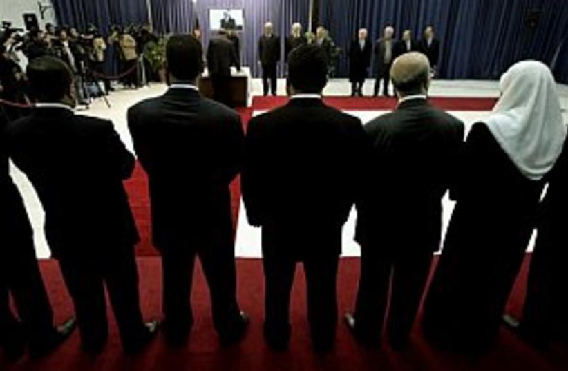 hamas cabinet 298 88 ap (photo credit: AP [file])