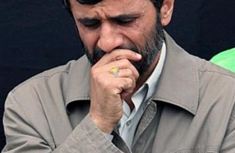 Ahmadinejad 298.88 (photo credit: AP)