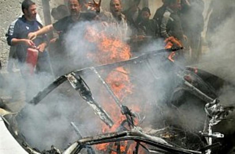 Gaza blast 298.88 (photo credit: AP)