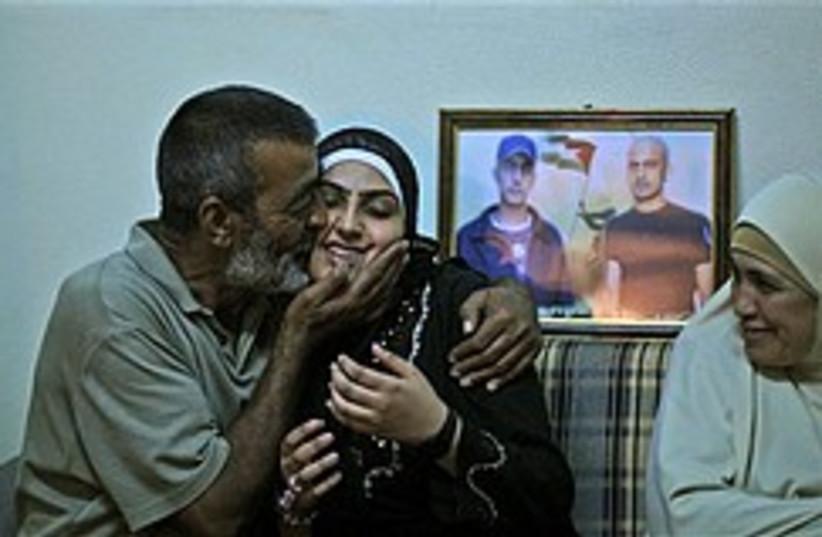 palestinian prisoner freed 248 88 (photo credit: AP)