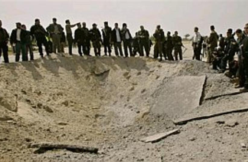 Gaza after bomb 298.88 (photo credit: AP)