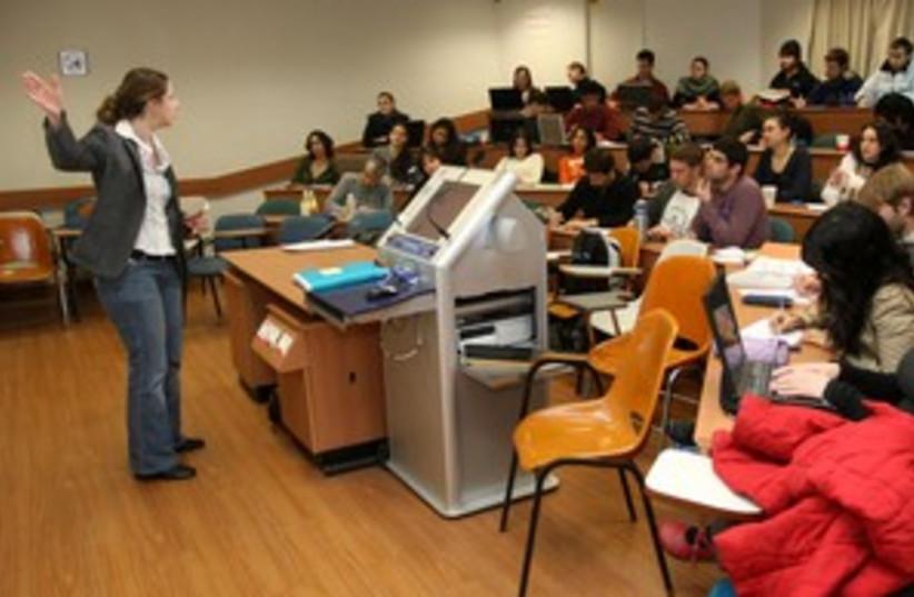 classe (photo credit: Ariel Jerozolimski)