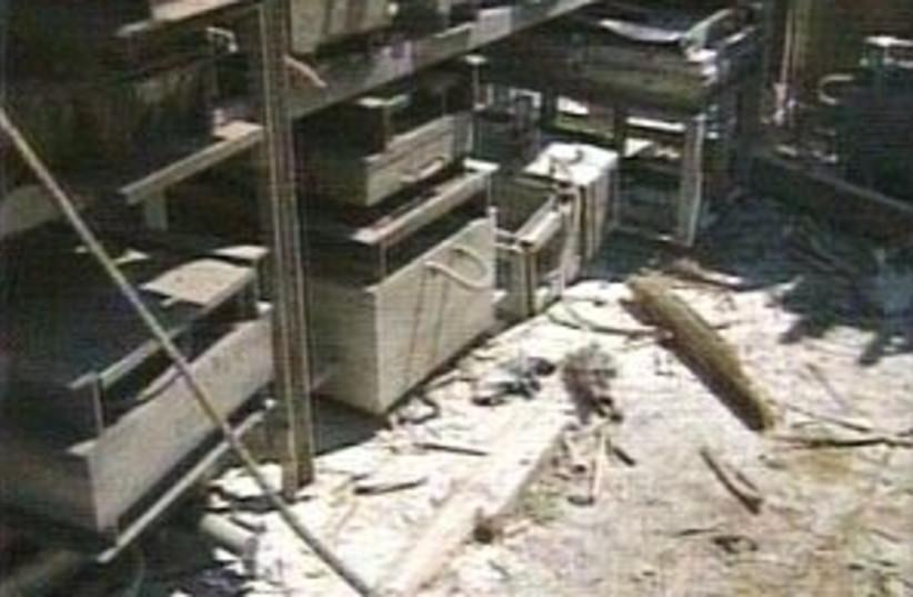 zikimkassamfactory 29888 (photo credit: Channel 2)