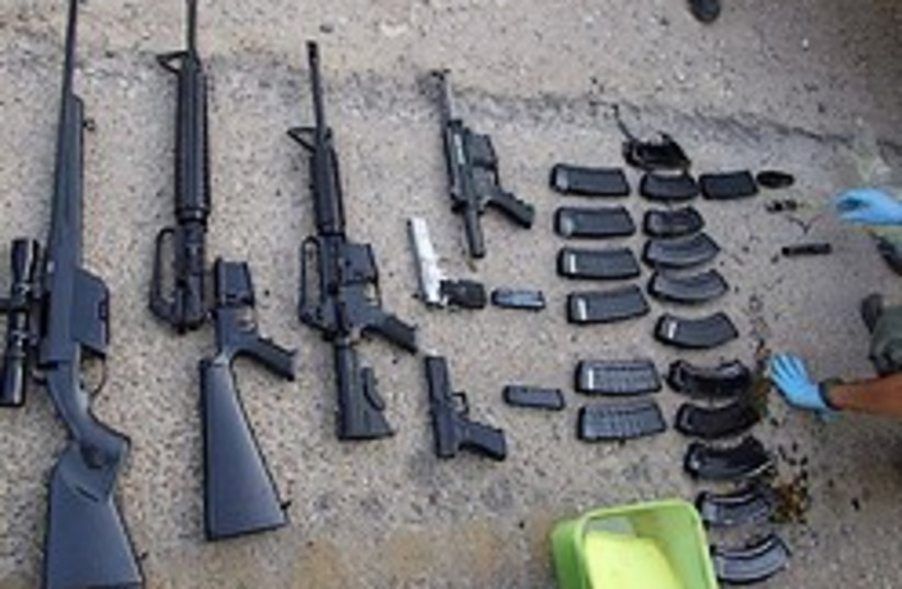 teitels weapons cache 248.88 (photo credit: Shin Bet Israel Security Agency)