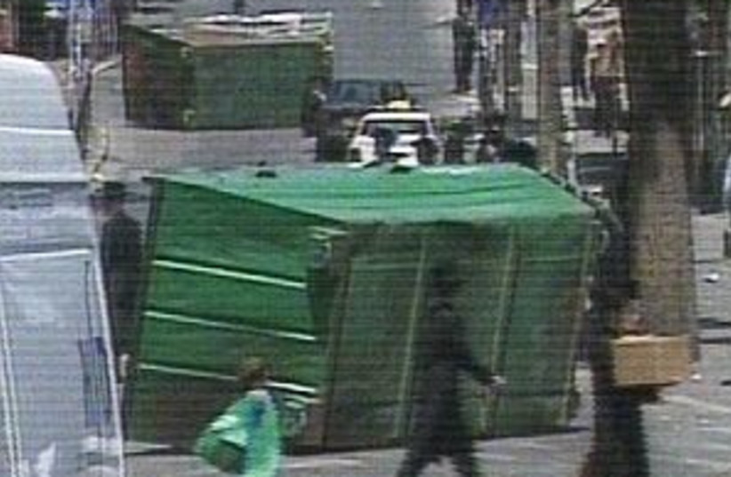 haredi riots 298.88 (photo credit: Channel 2)