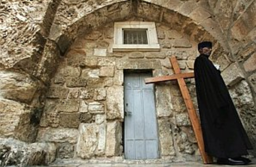 Church of the Holy Sepul (photo credit: AP)