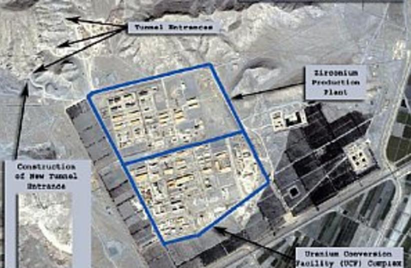 iran nuclear, satellite  (photo credit: Isis)