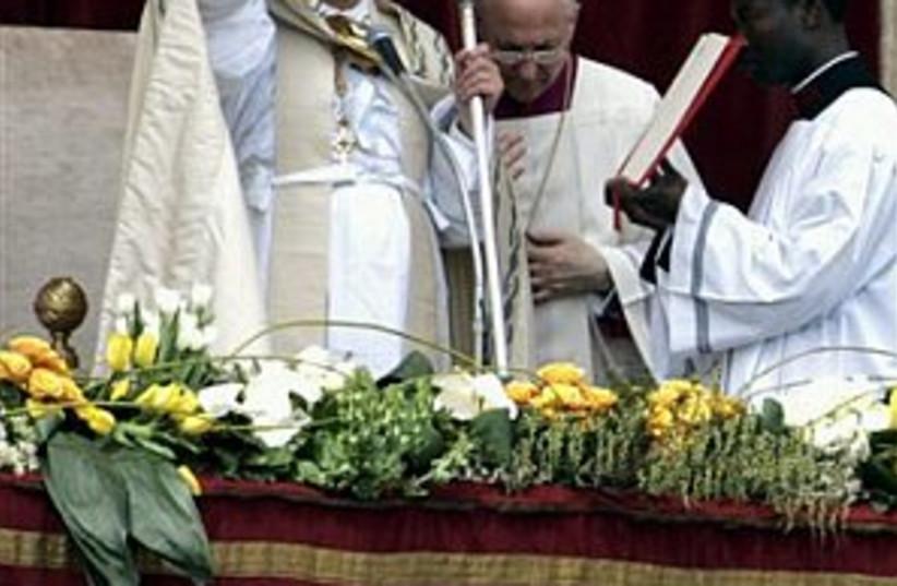 pope benedict XVI 298.88 (photo credit: AP)