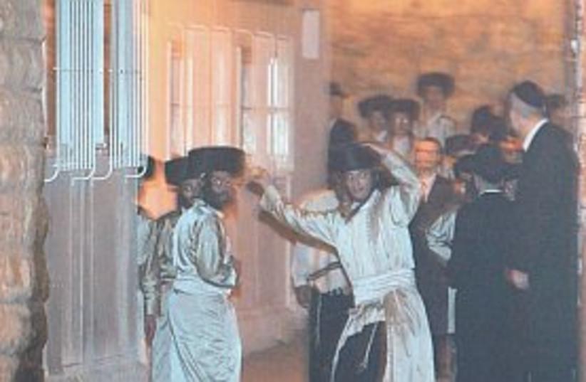 Haredim riots 298.88 (do not publish again) (photo credit: Flash 90 [file])