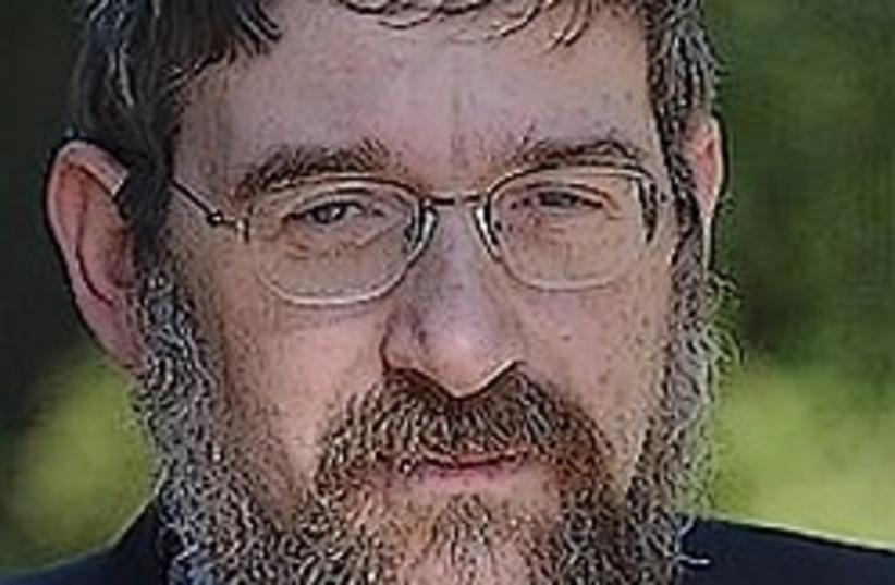 rabbi Michael Melchior 248 aj (photo credit: Ariel Jerozolimski)