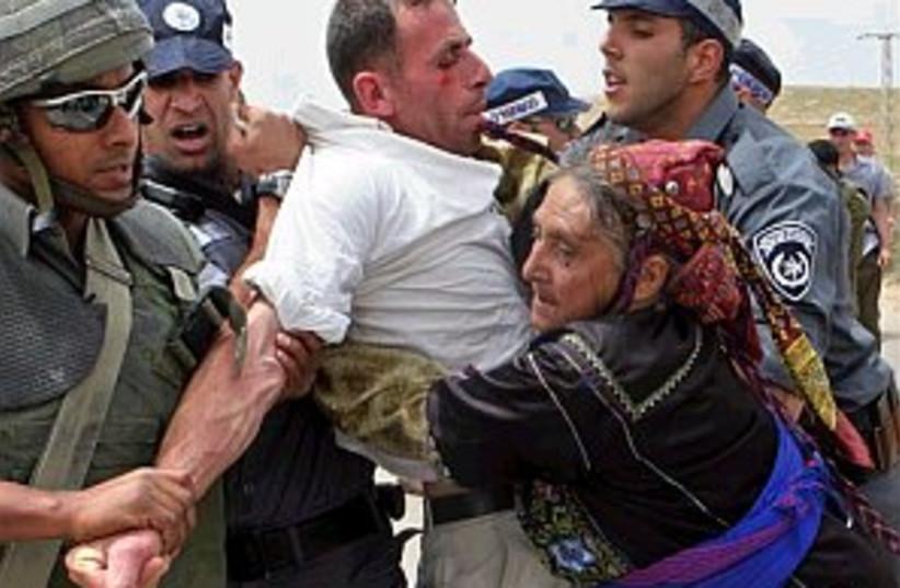 activist arrest 298.88 (photo credit: AP [File])