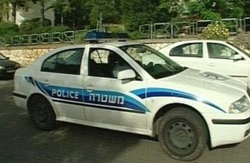 police car 298.88 (photo credit: Channel 10)