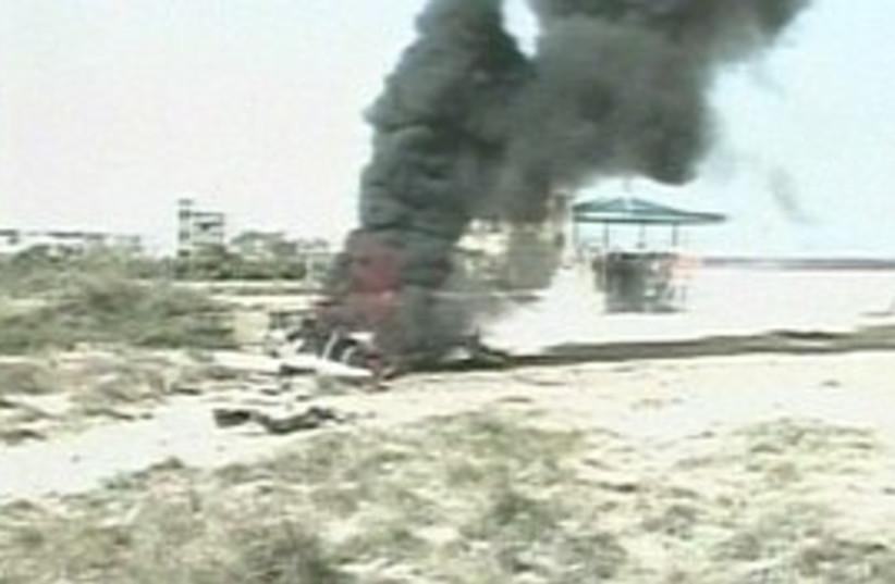 IAF strike 298.88 (photo credit: CNN [file])