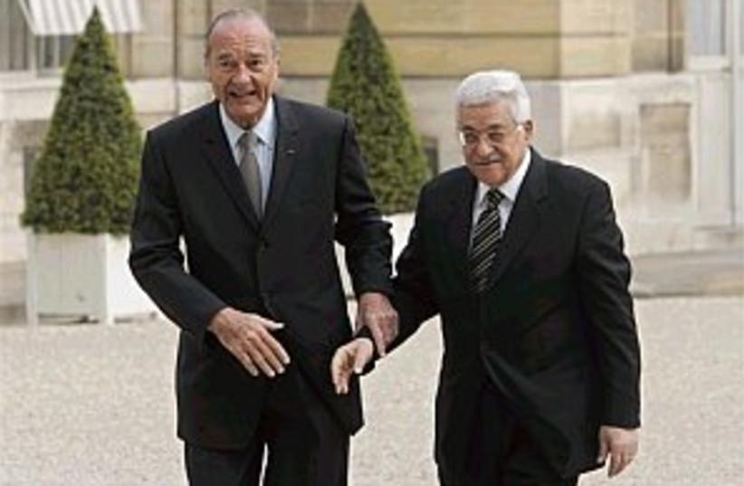 chirac abbas 298.88 (photo credit: AP [file])