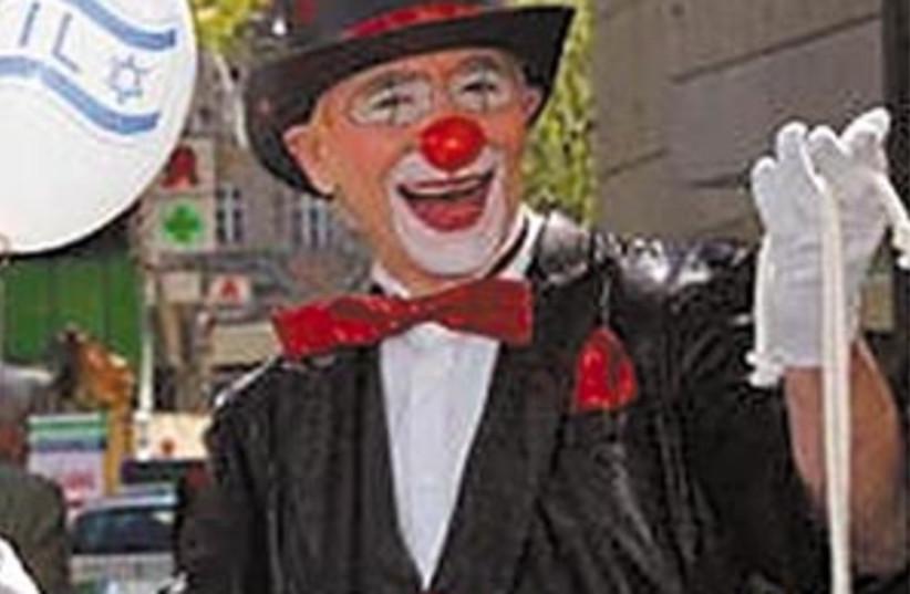 german clown 88 298 (photo credit: Courtesy Photo )