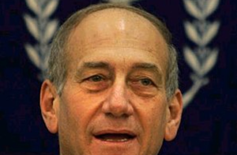 ehud olmert 298.88 (photo credit: AP)