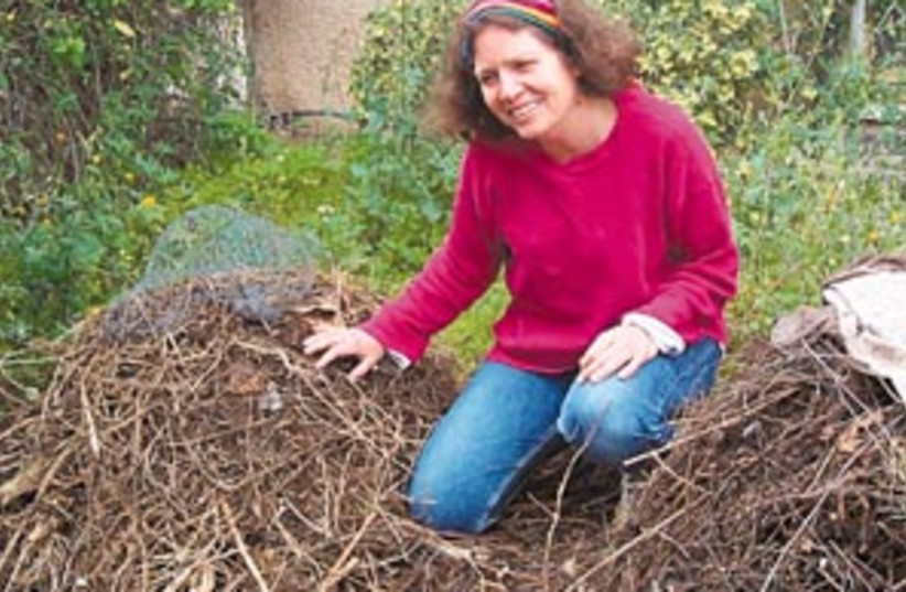 compost queen 88 298 (photo credit: Yocheved Miriam Rousso)