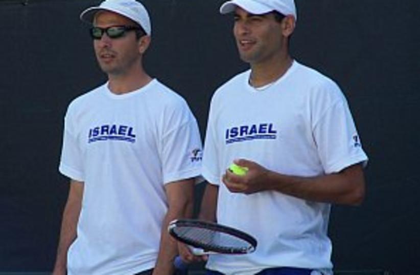 ram erlich tennis 298 88 (photo credit: Lidor Goldberg / ITA)