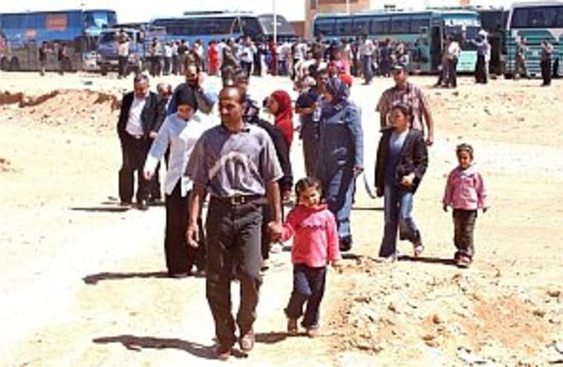 iraqi palestinians syria (photo credit: AP)