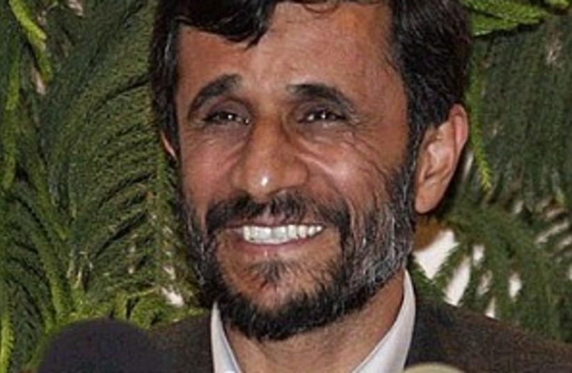 ahmadinejad 298.88 (photo credit: Associated Press)