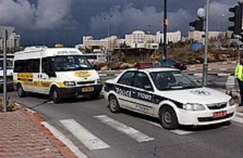 police car 298.88 (photo credit: Ariel Jerozolimski [file])