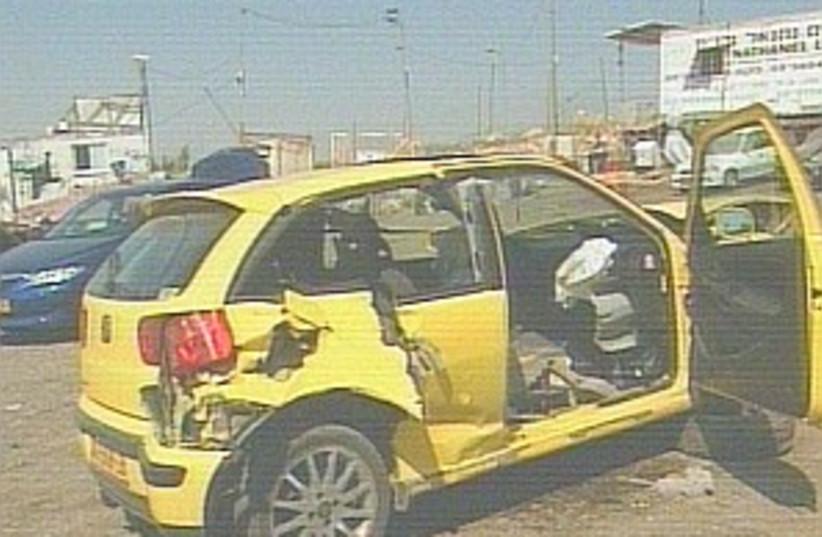 car race crash 298 (photo credit: Channel 2)