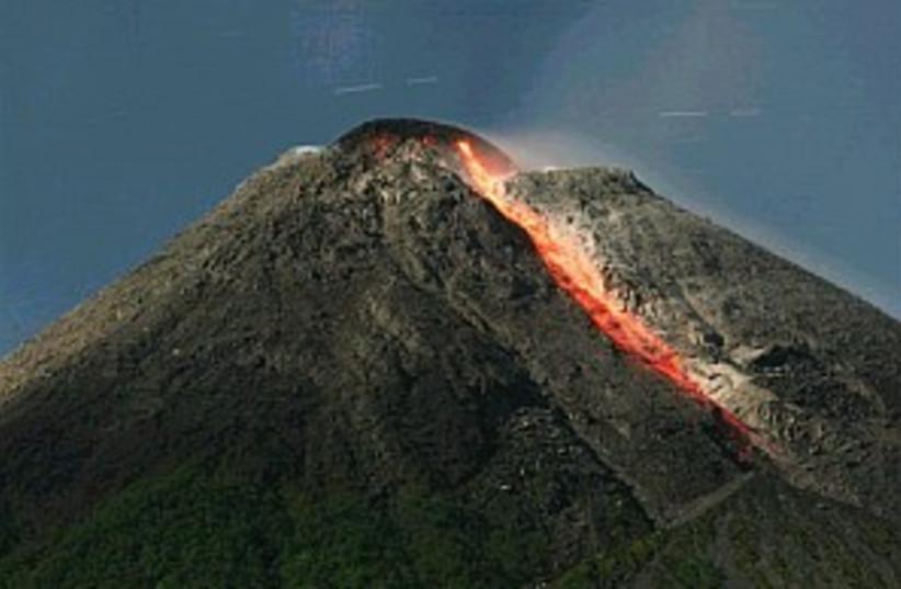volcano lava 298.88 (photo credit: AP)