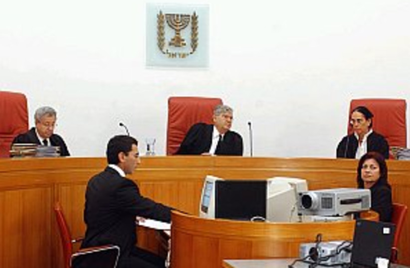 high court justices 298 (photo credit: Ariel Jerozolimski [file])