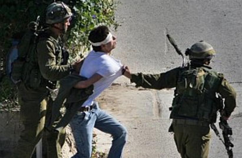 IDF arrest pal 298.88 (photo credit: AP [file])